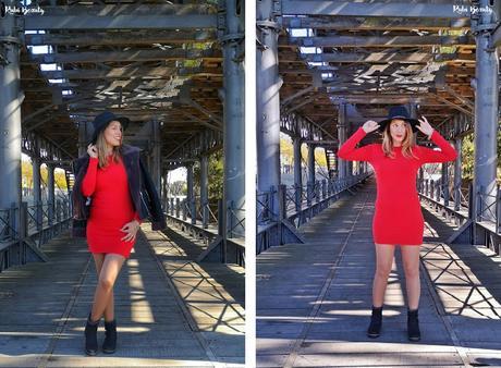 Outfit | Little Red Dress (Vestido rojo mini)