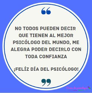 felicitar psicologo