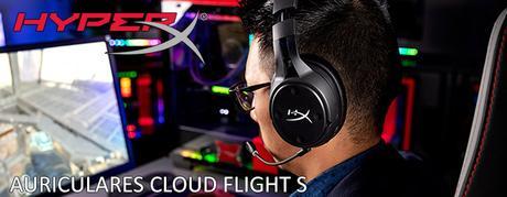 ANÁLISIS HARD-GAMING: Auriculares HyperX Cloud Flight S