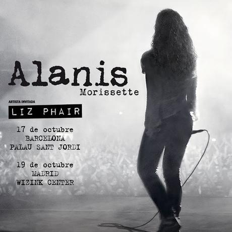 [Noticia] Alanis Morissette visitará Madrid y Barcelona en la gira de 25 aniversario de Jagged Little Pill