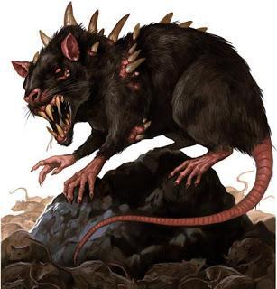 Ratas Gigantes de Necromunda, para Necromunda Underhive