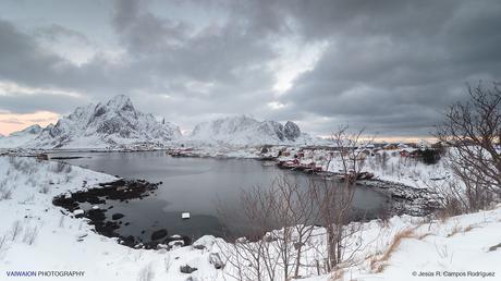 Norte de Noruega en Invierno. Un Mundo en Silencio