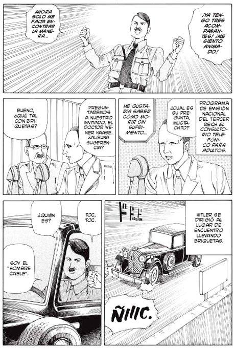 Hitler retratado por Shintaro Kago