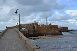 Fortificaciones de Cádiz, el castillo de San Sebastián