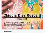 Nuestra alumni Claudia Díez Roscelli expone Feria Arte Contemporáneo Artist 2020