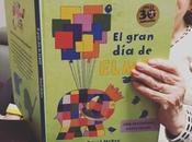 iniciamos lectura Elmer, elefante multicolor