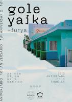 Concierto de Gole Yaika y Furya en Siroco