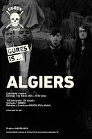 Concierto de Algiers en el Café Berlín