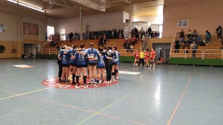 Las chicas de Balonmano Montequinto, Campeonas del Grupo B senior femenino