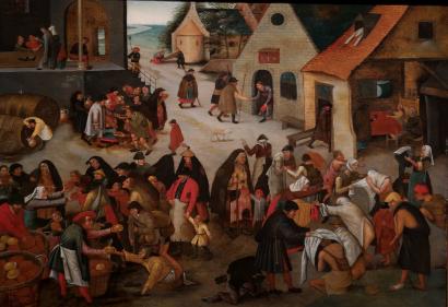 Los Brueghel. Un paseo por la pintura flamenca.
