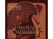 Muntz Tasmanian Perro parte atrás coche