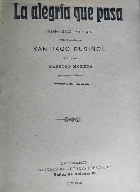 Miguel Mihura y Santiago Rusiñol: sobre el origen de «Tres sombreros de copa»