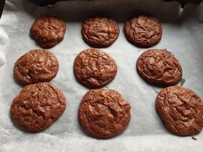 Cookies brownies de chocolate