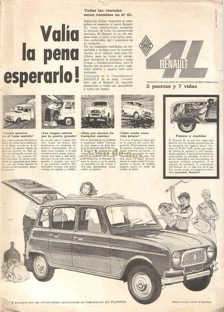 Renault 4L, 5 puertas y 7 vidas