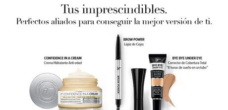 Dossier de productos It Cosmetics