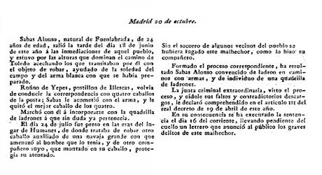 Robo en las inmediaciones de Fuenlabrada (1810)