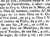 Subasta varias tierras término lugar Fuenlabrada (1804)