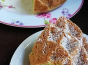 Bizcocho aguacate pistachos