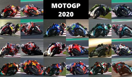 Moto GP calendario 2020 todos los circiutos, el calendario completo.