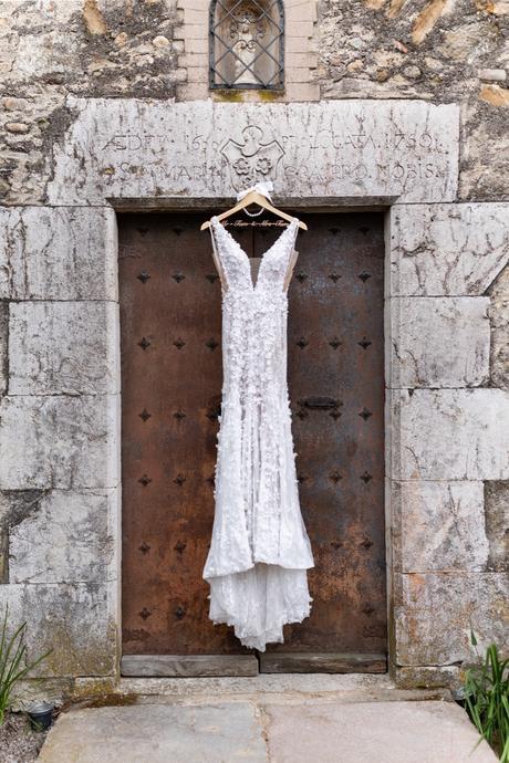 Bridal dress Vestido de novia glamour