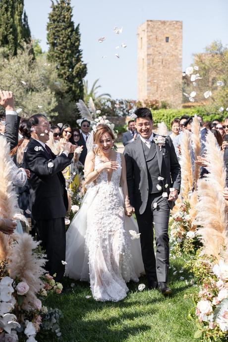 salida de los novios ceremonia ceremony