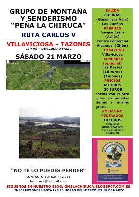 RUTA CARLOS V