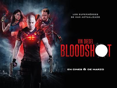 Sorteo entradas Bloodshot de Vin Diesel