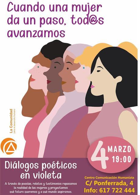 Encuentro | Diálogos poéticos en violeta