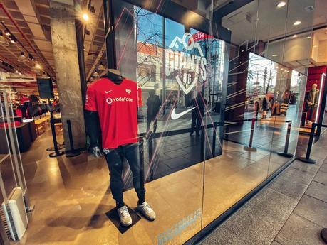 La nueva equipación oficial de Vodafone Giants se presenta en sociedad