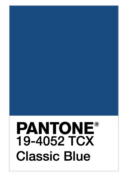 classic blue - el color del 2020