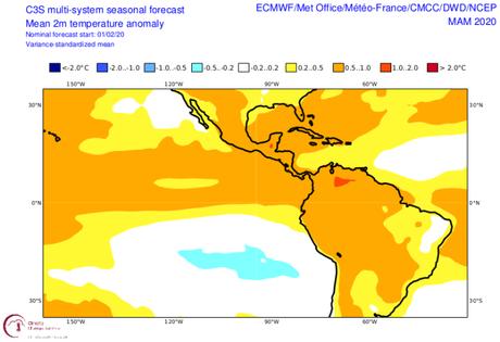 ¿Sentiste que en enero y febrero hizo más calor de lo habitual? Pues ahora se viene el trimestre más cálido para Venezuela