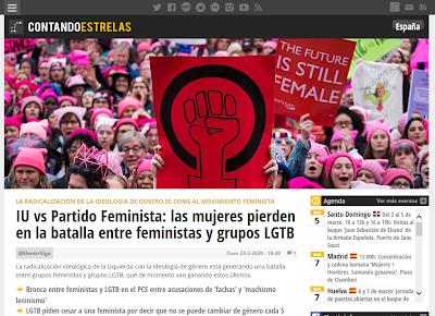 ¿Por qué expulsan al Partido Feminista Español de Izquierda Unida?