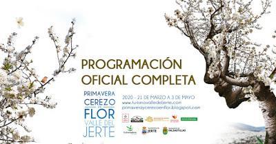 Programación Primavera y Cerezo en Flor 2020. Valle del Jerte