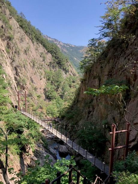 Guía para visitar el Parque Nacional de Seoraksan en Corea del Sur