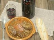 Carrilleras cerdo vino naranja, baja temperatura