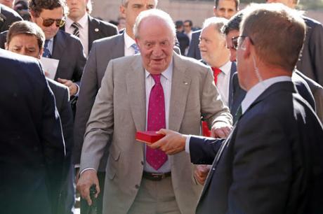 """El """"regalo"""" de Don Juan Carlos a Corinna de 65 millones de euros"""