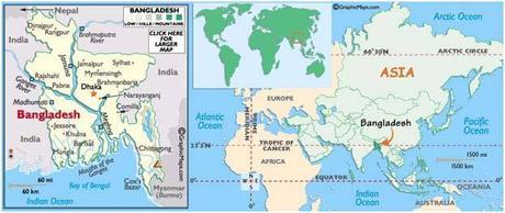 Radares Meteorológicos en vivo de Bangladesh y más información