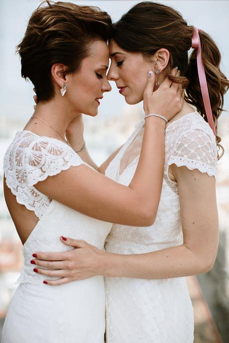 Fotografia de boda dos novias boda boho chic urbano