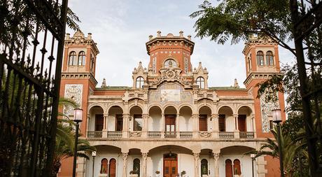 Boda boho chic dos novias | palacio de Larrinaga | Bodas de Cuento