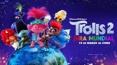 "Gana premios de la película ""Trolls 2 – Gira mundial"""