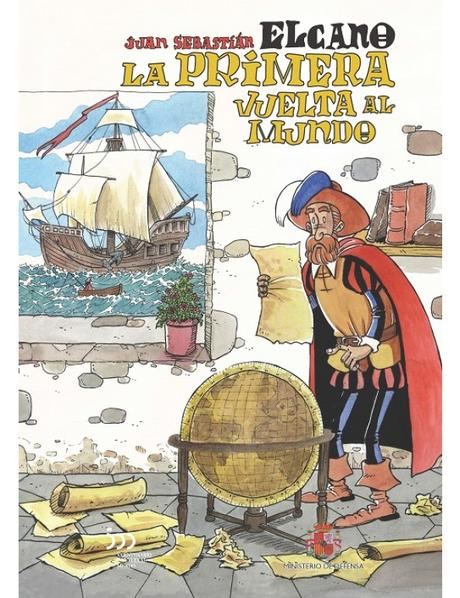 Image result for primera vuelta al mundo magallanes y elcano comic