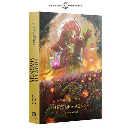 Fury of Magnus, de Graham McNeill: Revelada portada y sinopsis
