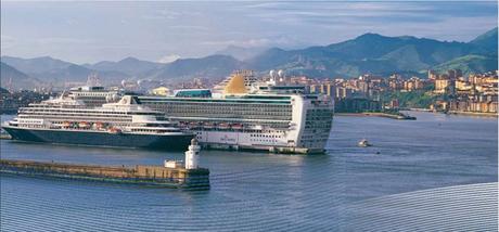 Escala de cruceros en Getxo