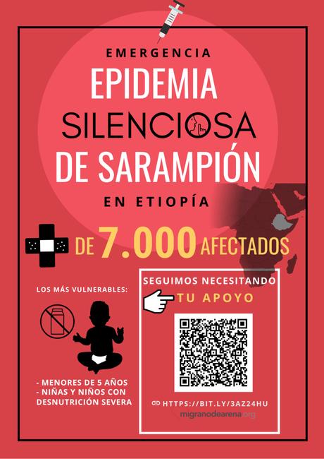 Emergencia ante la Epidemia Silenciosa de Sarampión en Etiopía