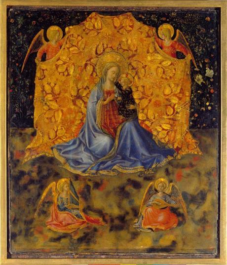 Virgen y nino