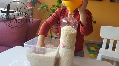 actividad para niños en casa