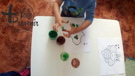 actvidadad creativa para niños