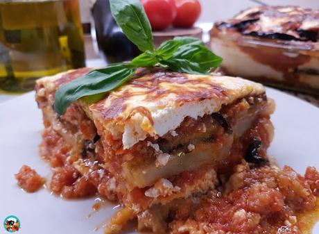 Moussaka vegetariana