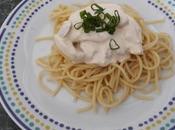 Spaghetti crema