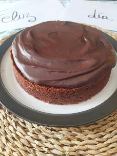 Tarta de chocolate para el Día del Padre - Sin leche & Sin huevo